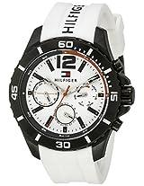 Tommy Hilfiger Men's 1791146 Cool Sport Analog Display Quartz White Watch
