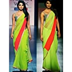 Priyanka Chopra Party Wear Bridal Wedding Bollywood Replica Saree