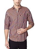 Peter England Brown T Shirt
