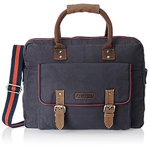Fastrack Canvas Blue Messenger Bag (A0417CBL01)