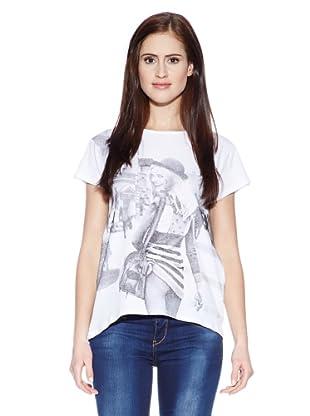 LTB Jeans Camiseta Hepi T/S (Blanco)
