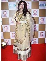Dia Mirza Golden Lehenga At Swades Foundation Event