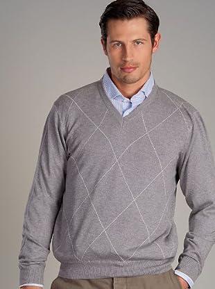 Hackett Jersey Rombos (gris)