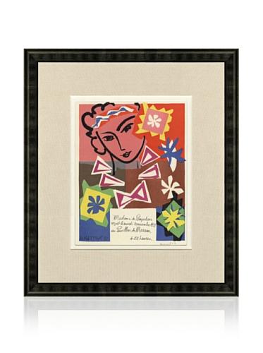 Henri Matisse Madame de Pompadour, 1959, 17