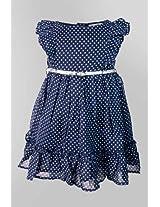 Nauti Nati Star Print Dress With Belt Naw13-072