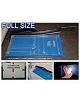 Solid Paper Cutter Trimmer Cutters by Harison paper cutters 16 inch Support A4 A3 All Photo Paper Cutting AND 50 Sheets Photo Paper Glossy Colored By TCL INDIA