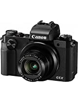 Canon Powershot G5 X Digital Camera | 20.2 MP , 4.2x Optical Zoom | Black Color