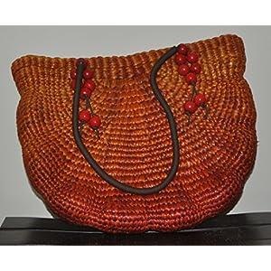 ecoElements Handmade Water Hyacinth Fiber Handbag