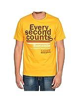 Being Muslim Yellow T-Shirt for Men