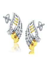 Aamanat Multi-Colour Silver Studs For Women