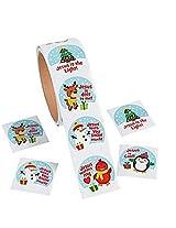 Christmas Inspirational Stickers (200 Sticker)