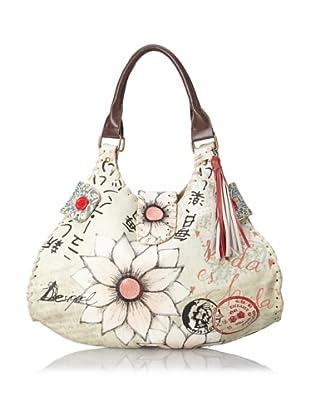Desigual Handbags Bols Japo 31X5192 Hobo (Crudo Beige)