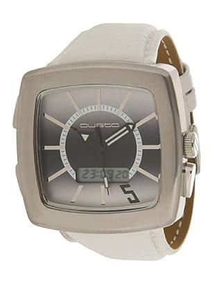 Custo Watches CU020901 - Reloj de Caballero cuarzo piel Blanco