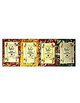 Tinley 4 in 1 pack(Masala Tea, Assam Tea, Darjeeling Tea, Pure Green Tea)