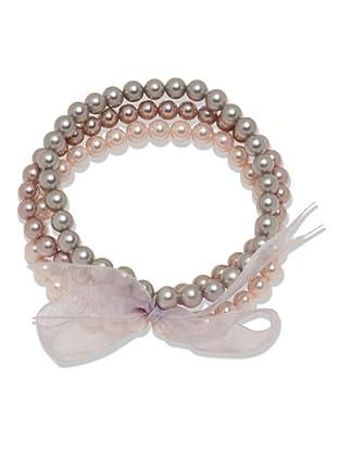 Perldor 60650125 - Pulsera de mujer con perla natural Multicolor 20 cm