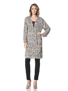 Just Cavalli Women's Long Cardigan Dress (Animal Print)
