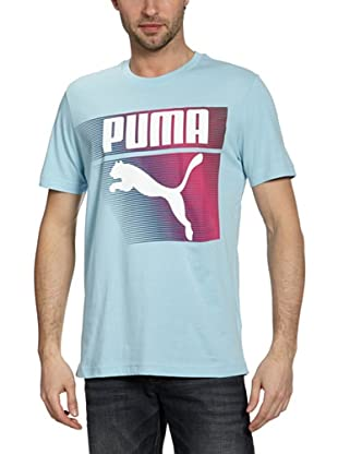 Puma T-Shirt Glyth (Sky Blue)