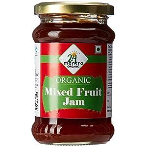 24 Mantra Organic Mixed Fruit Jam, 350g