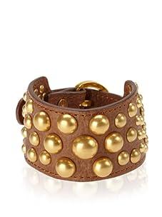 Rebecca Minkoff Brown Bubble Stud Cuff Bracelet