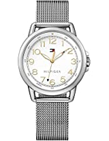 Tommy Hilfiger Casey Analog Display Japanese Quartz Silver Women's Watch - TH1781658J