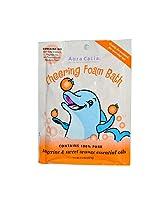 Aura Cacia Foam Bath Cheering Tangerine & Sweet Orange -- 2.5 oz
