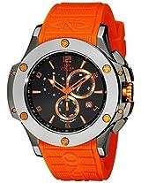 Oniss Paris Men's ON612N-RB/BLK/ORG BOLD COLLECTION Analog Display Swiss Quartz Orange Watch