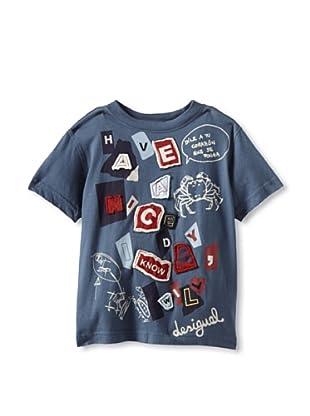 Desigual Boy's Chocolate T-Shirt (Blue)