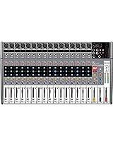 NX Audio POM1600 Live Sound Mixer 16Ch 450w