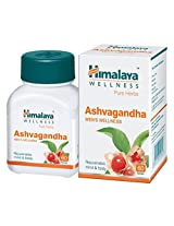 Himalaya Ashvagandha - 60 Tablets (Pack of 2)