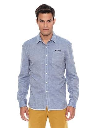 Pepe Jeans London Camisa Yule (Azul)