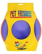 Taiyo Pluss Discovery Dual-Colour Frisbee, 9 inch X 9 inch