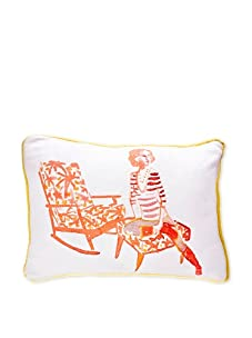 AphroChic Clinton Hill Pillow (Watercolor)
