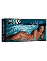 Moods All Night Delay Condom - 10 Count (Pack of 4)