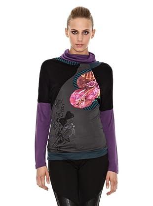 Sidecar Camiseta Alison (Negro)