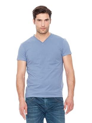 Calvin Klein Jeans Camiseta Basic V V M / C (Azul)