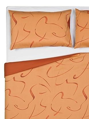 Byblos Home Parure copripiumino Casual (arancione)