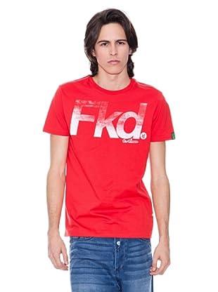 Gio Goi Camiseta Troyden (Rojo)