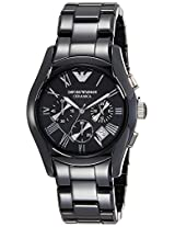 Armani Chronograph Black Dial Men's Watch - AR1400