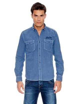 Pepe Jeans London Camisa Brat (Azul)