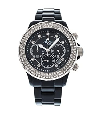 al&co Reloj Black And White Negro
