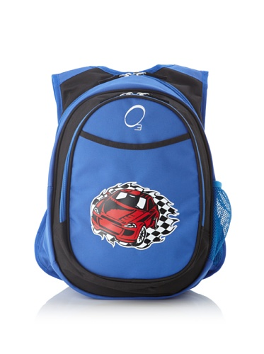 O3 Kid's All-in-One Backpack with Integrated Cooler (Race Car)