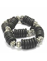 Foppish Mart Black & Oxidized Smarty Bracelets (2 pcs) For Girls