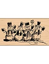 "Penny Black Mounted Rubber Stamp 2.25""X4""-From All Of Us"