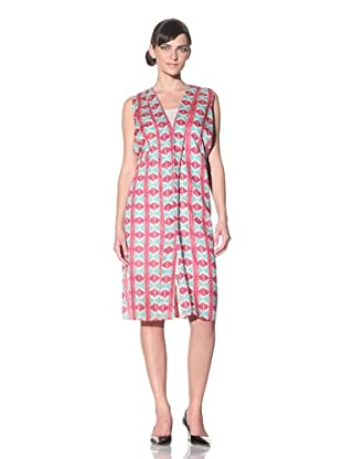 MARNI Women's Printed Dress (Pink Green)