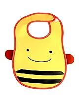 Lilsta Waterproof Baby Bib (Yellow)