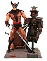 Diamond Select Toys Marvel Select Brown Wolverine Action Figure, Multi Color