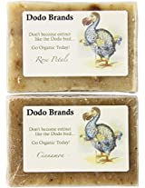Dodo Brands Two Organic Botanical Soaps, 7-Ounce