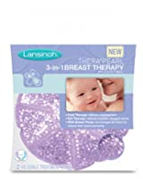 Lansinoh TheraPearl 3-in-1 Breast Therapy, 1 Count