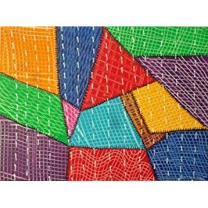 ArtZolo Quilt Painting Original Art
