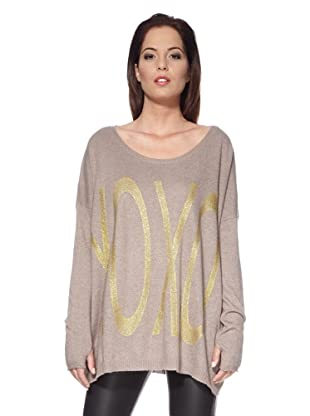 Free for Humanity Onesize Pullover Xoxo (Taupe)